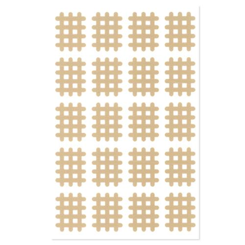 供Excel螺旋带子A型(20枚)业务使用:20席(400枚) - 在艰难的地方张贴!打穿类型的伸缩性粘着绑扎。