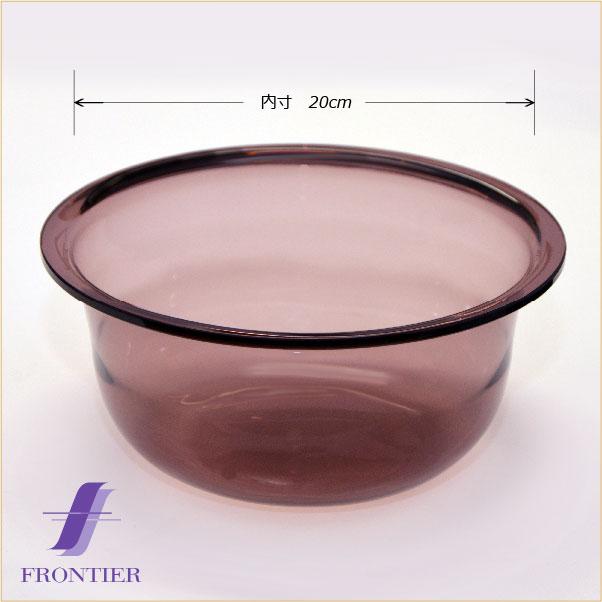 アクリル 洗い桶 ウォッシュボール 小 【アクリル製洗面器】