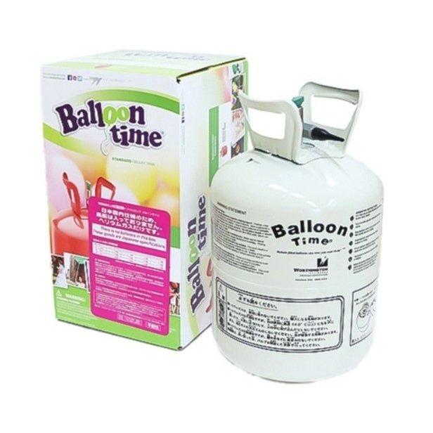 ヘリウムガス 230リットル バルーンタイム(中) 使い捨てタイプ 風船 バルーン ヘリウム缶 ボンベ 飾り付け おしゃれ かわいい 浮かせる