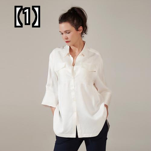 【予約販売5~8営業日での発送】 ZiZiyou マタニティシャツ スリーブ  ルーズウェア サマー ロングタイプ 女性