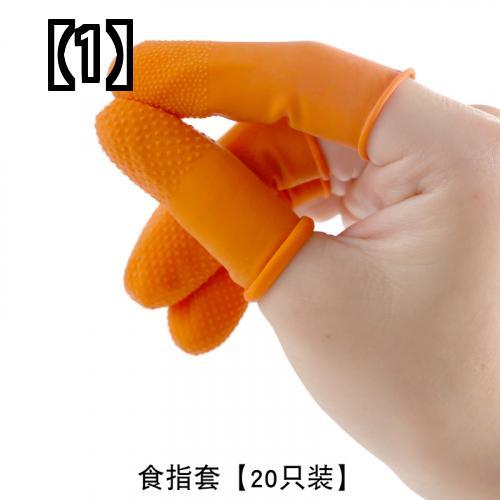 【予約販売5~8営業日での発送】 指サック フィンガーガード オレンジ