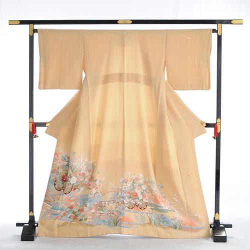 【 レンタル 】色留袖 高級正絹 着物レンタル 結婚式 親族・列席者 【貸衣装 フルフル】 お呼ばれ 叙勲