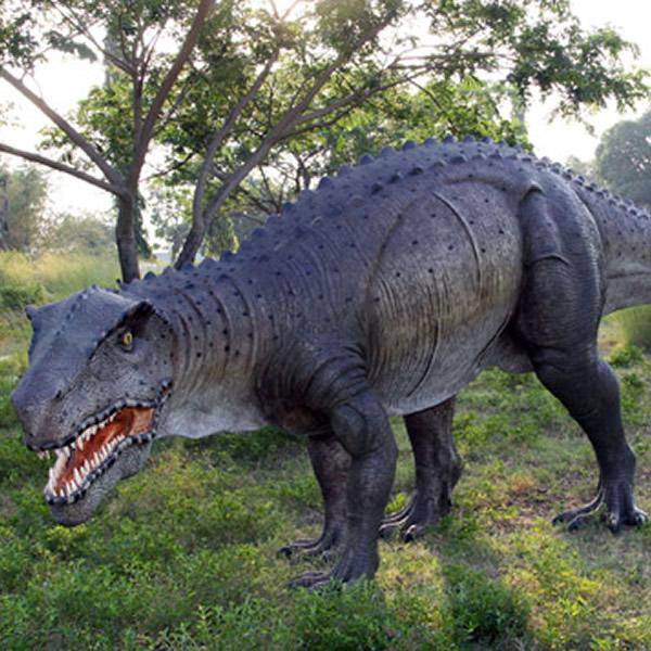 贅沢屋の 三畳紀 置物 ポストスクス FRP恐竜オブジェ 主竜類 【whlny ...