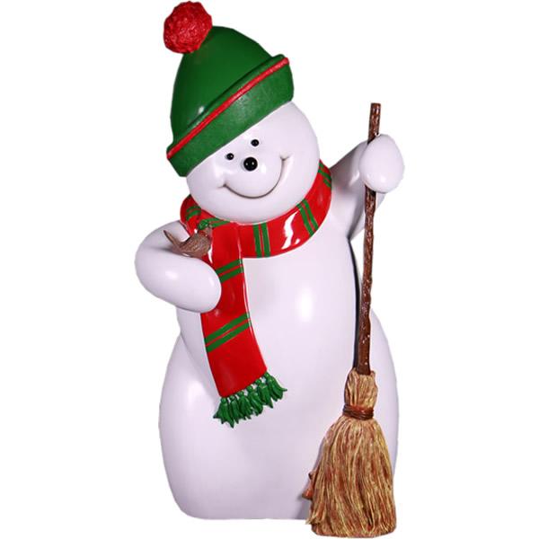 FRPオブジェ スノーマン・160cm 置物 人物 人形 雪ダルマ 雪だるま タキシード 店舗 イベント ディスプレイ 実物大 等身大 リアル 【whlny】