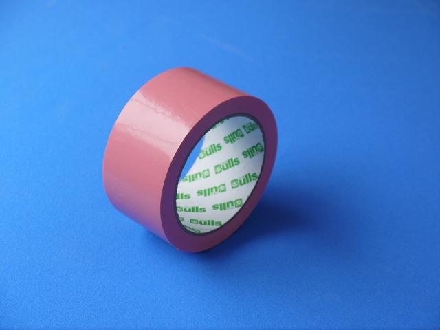 90巻セット3ケース分・【養生用粘着テープ50ミリ×25メートル】さくらピンクビニルテープ 赤系 199円/巻(税抜き)カラー養生テープ