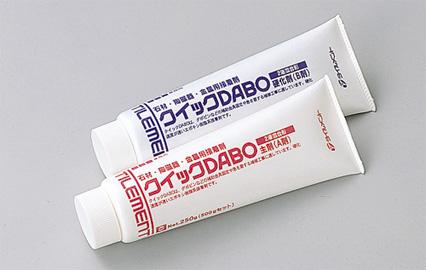 【クイックDABO 500gセット(主剤250g硬化剤250g)×12セット ヘラ、混ぜ板付】タイルメント