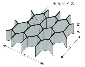 【アラミド・ハニカム CG-SAH1/8-3.0 1枚 10ミリ厚1115ミリ×2400ミリ】