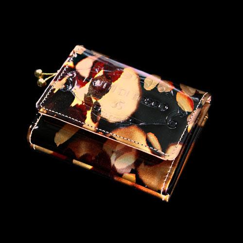 フルッティ ディ ボスコ  Mezzo nightlamp Silver ミニ財布 レディース エナメル 派手 個性的