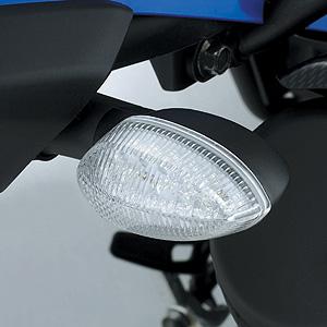 XT250X用LEDクリアウインカーセット