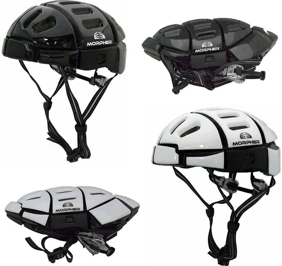 折り畳み可能で持ち運びらくらく! サイクルヘルメット MORPHER FOLDING HELMET