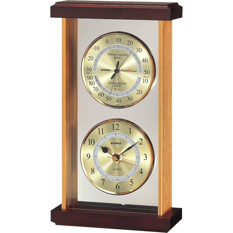 エンペックス スーパーEX温・湿度・時計 EX-742