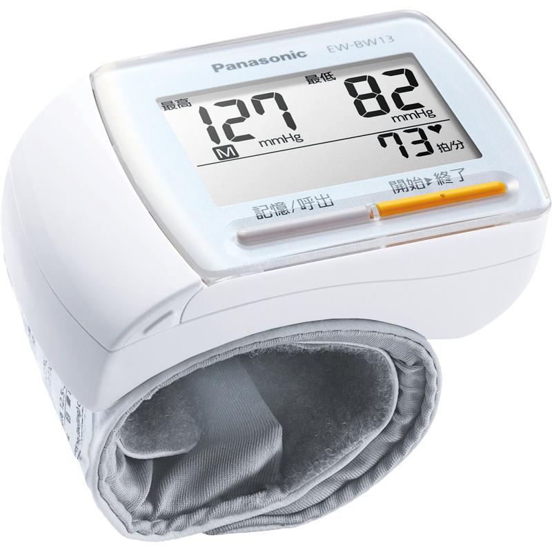パナソニック 手首血圧計 ホワイト EW-BW13-W