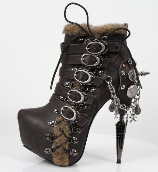 hades【取り寄せ】ヘイディーズ/hades footwear・品番:ADLER/アドレー/ダークブラウン/ショートブーツ