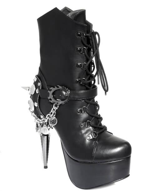 hades【取り寄せ】ヘイディーズ/hades footwear・品番:ENVY/エンヴィ/ショートブーツ/ブラック