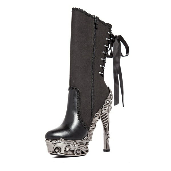hades【取り寄せ】ヘイディーズ/hades footwear・品番:ANALIA/アナリア/ロングブーツ/ブラック