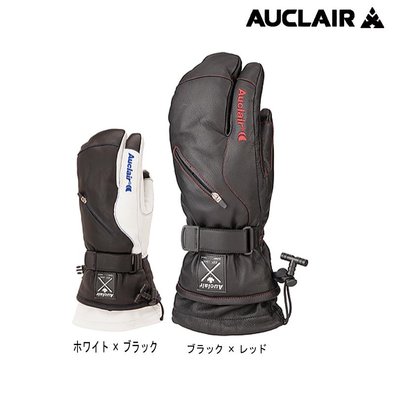 オークレアー(Auclair)男性用スキー手袋「VALEMONT 3 FINGER(3本指ミトン)」2J791