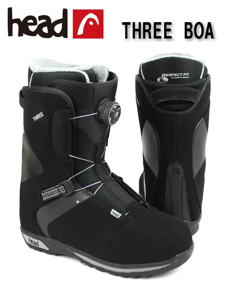 15/16 HEAD(ヘッド)メンズ、ユニセックス スノーボードブーツ「THREE BOA」350415