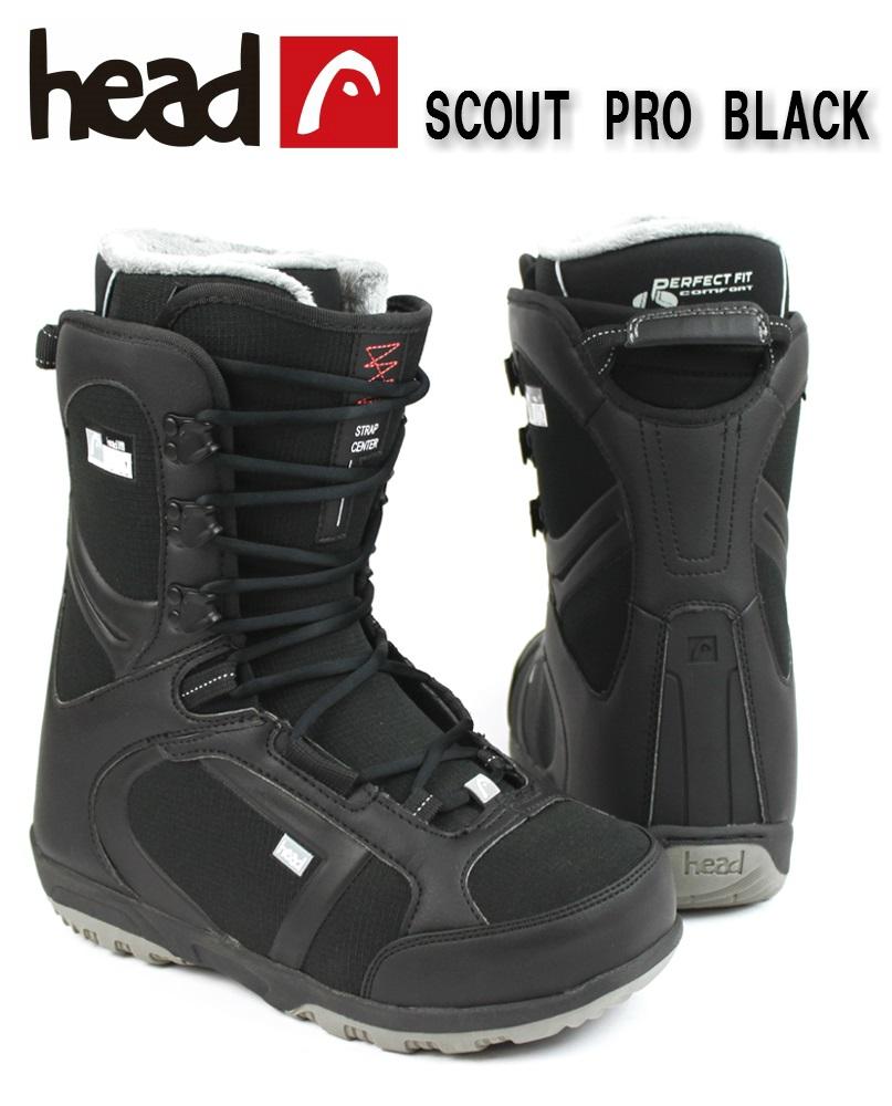 【全国送料無料】HEAD(ヘッド)メンズ、ユニセックス スノーボードブーツ「SCOUT PRO BLACK」353815
