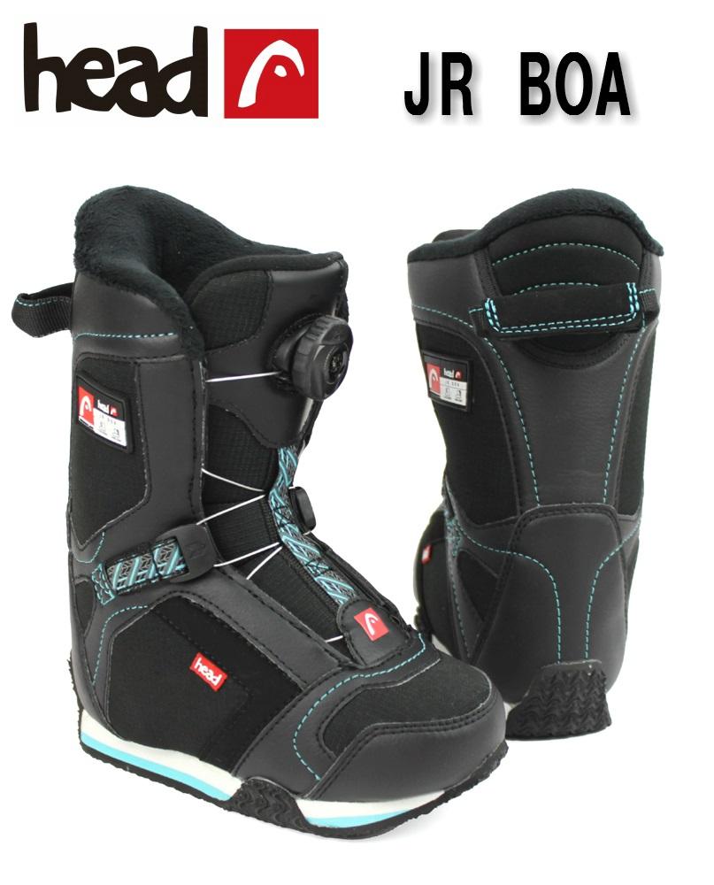 HEAD(ヘッド)ジュニア子供用スノーボードブーツ「JR BOA」355314