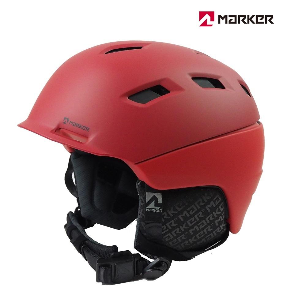 マーカーMARKERスノーヘルメット「AMPIRE MEN(アンパイアー)」2BLOCK レッド