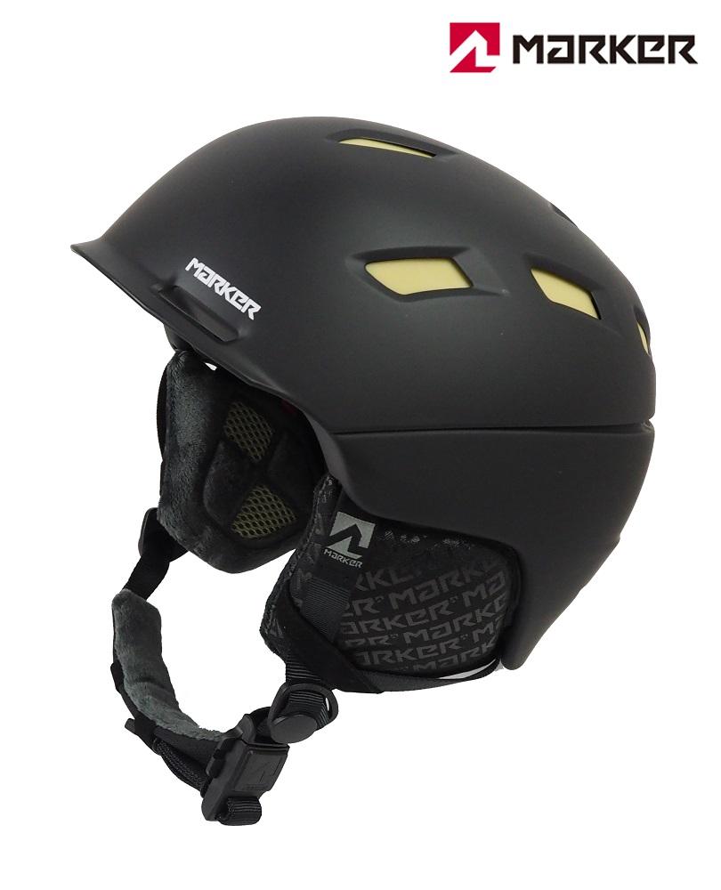 マーカーMARKERスノーヘルメット「AMPIRE MEN(アンパイアー)」2BLOCKブラック(Mサイズ)