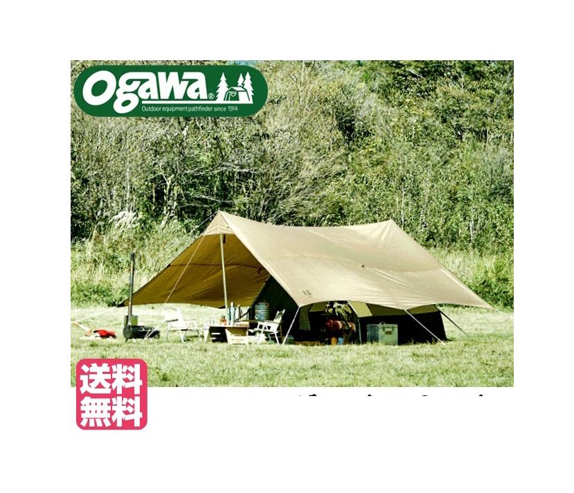 CAMPALJAPAN オガワ(キャンパルジャパン)「トリアングロ(5人用A型テント)」2745
