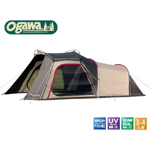 オガワキャンパルOGAWACAMPALロッジドームテント3~4人用「ポルヴェーラ34」2770