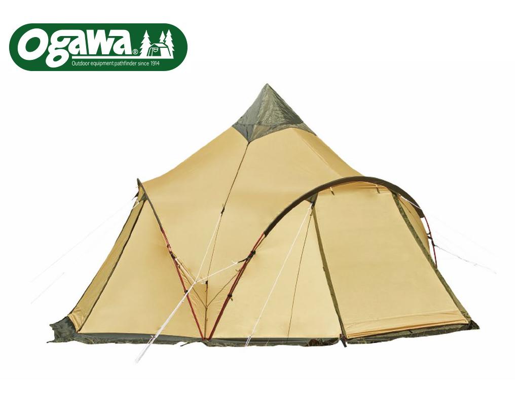 オガワキャンパルOGAWACAMPALモノポール(+3アーチポール)テント3~4人用「TRESトレス」2782