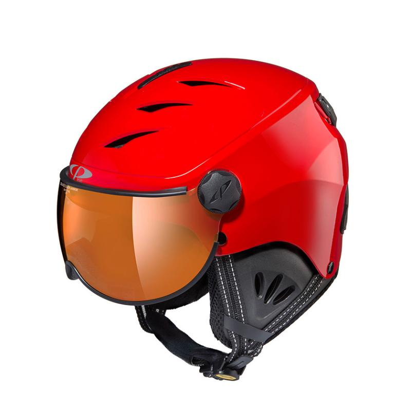 全国送料無料 19 20 CP シーピー ジュニア子供用 期間限定今なら送料無料 スキー 上質 レッド カムリーノ BDR CAMULINO Jr.M ウィンタースポーツ用ゴーグル付ヘルメット CPC1934