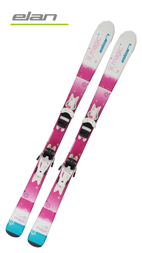 '19エランELANジュニアガールズ用スキー2点セット「LIL MAGIC」(110cm~140cm)