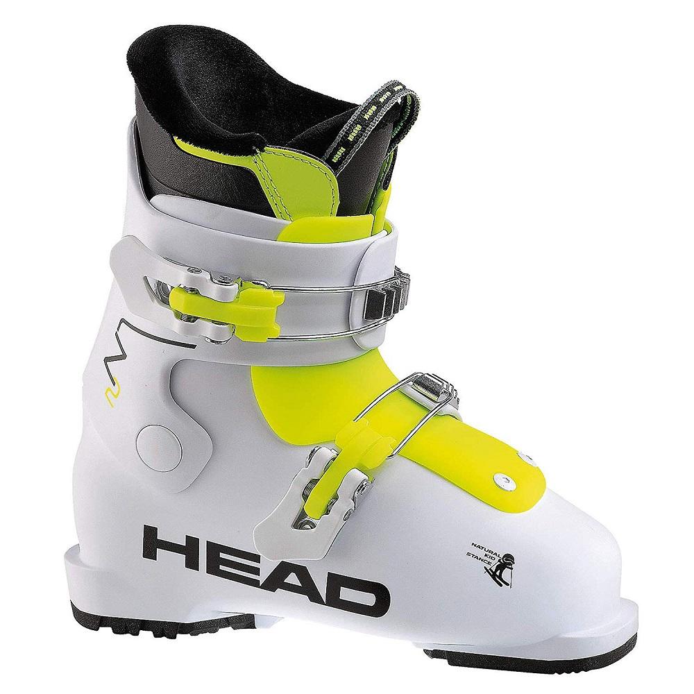 '18-19モデルHEADヘッドジュニア用スキーブーツ「Z2/ホワイト×イエロー」606552