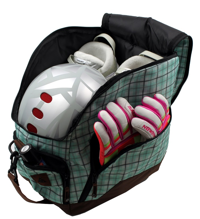 13 K 2 «K2» green ski boot / helmet bag S1217