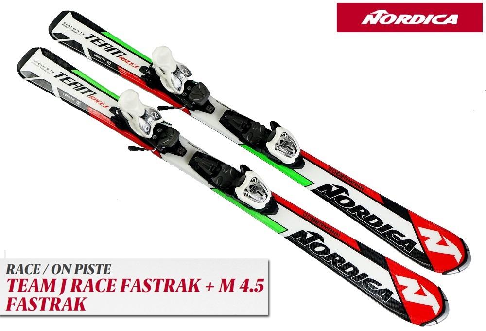 17ノルディカNORDICA「TEAM J RACE FASTRAK」+金具M4.5 FASTRAK