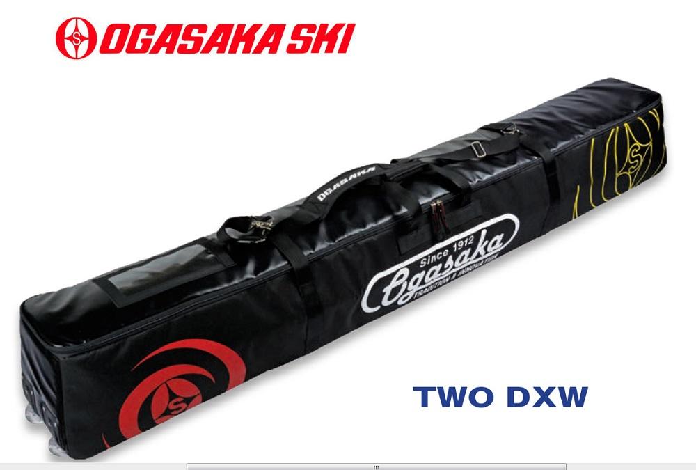 2019-2020オガサカOGASAKA2台入スキーケース「TWO DXW」ホイール付
