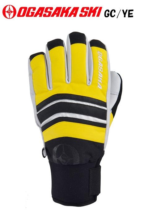 2017-18オガサカOGASAKAスキー手袋「GC/YE(イエロー)」