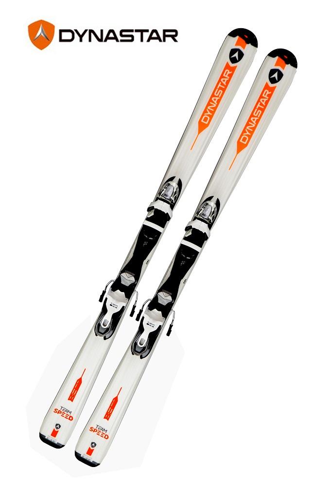 17ディナスター(Dynastar)ジュニア高学年用スキー「TEAM SPEED 140-150cm」(ホワイト)+金具XPRESS7