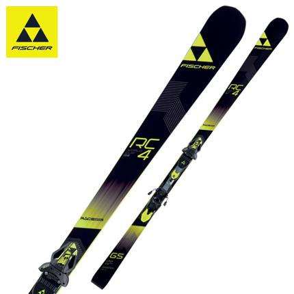 2018 FISCHER(フィッシャー)スキージュニアレーシングスキー「RC4 WC GS JR WCP16」+金具「RC4 Z11FF」(160cm)【全国送料無料】