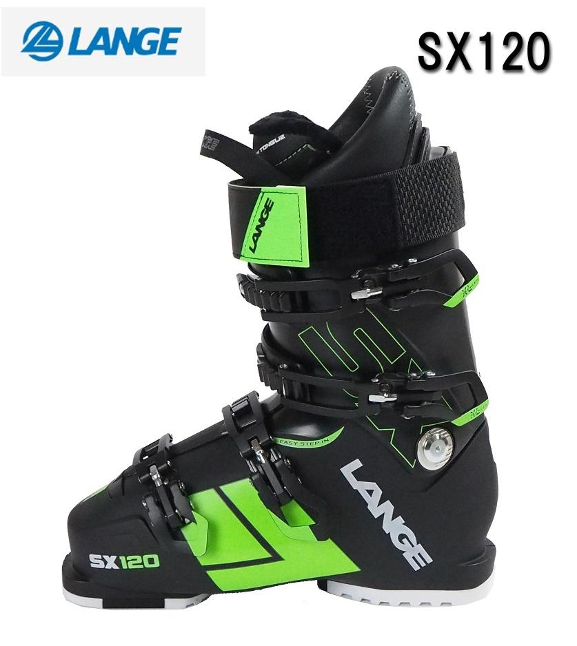 2017-2018LANGE(ラング)スキーブーツ一般スキーヤータイプ「SX120」LBG6000(オリジナルバッグ付)【全国送料無料】