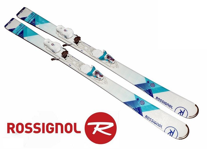 ロシニョールROSSIGNOL女性用初心者スキー「UNIQUE 1S W XELIUM」+金具XELIUM SAPHIR 110 B83