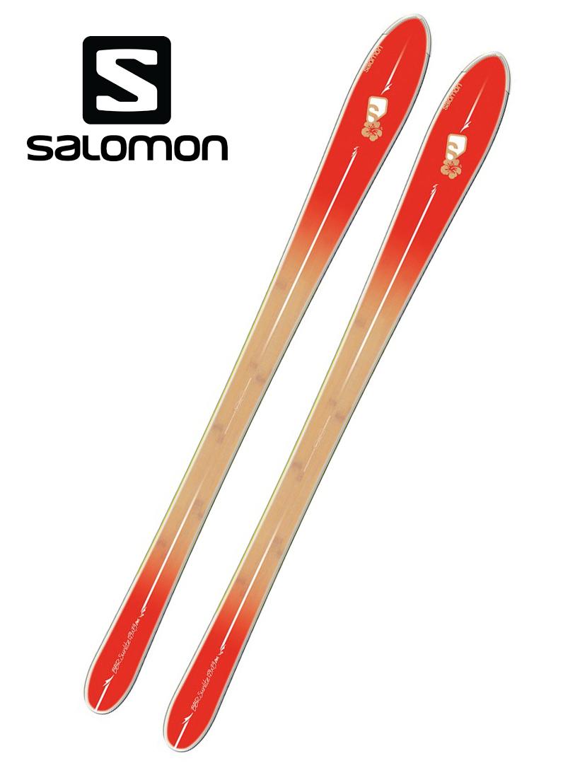 13サロモンSALOMONスキー「BBR SUNLITEサンライト」169cm(板のみ)