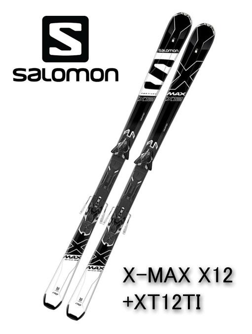 2018 サロモンSALOMONスキー「X-MAX X12」+金具XT12TI(165cm)