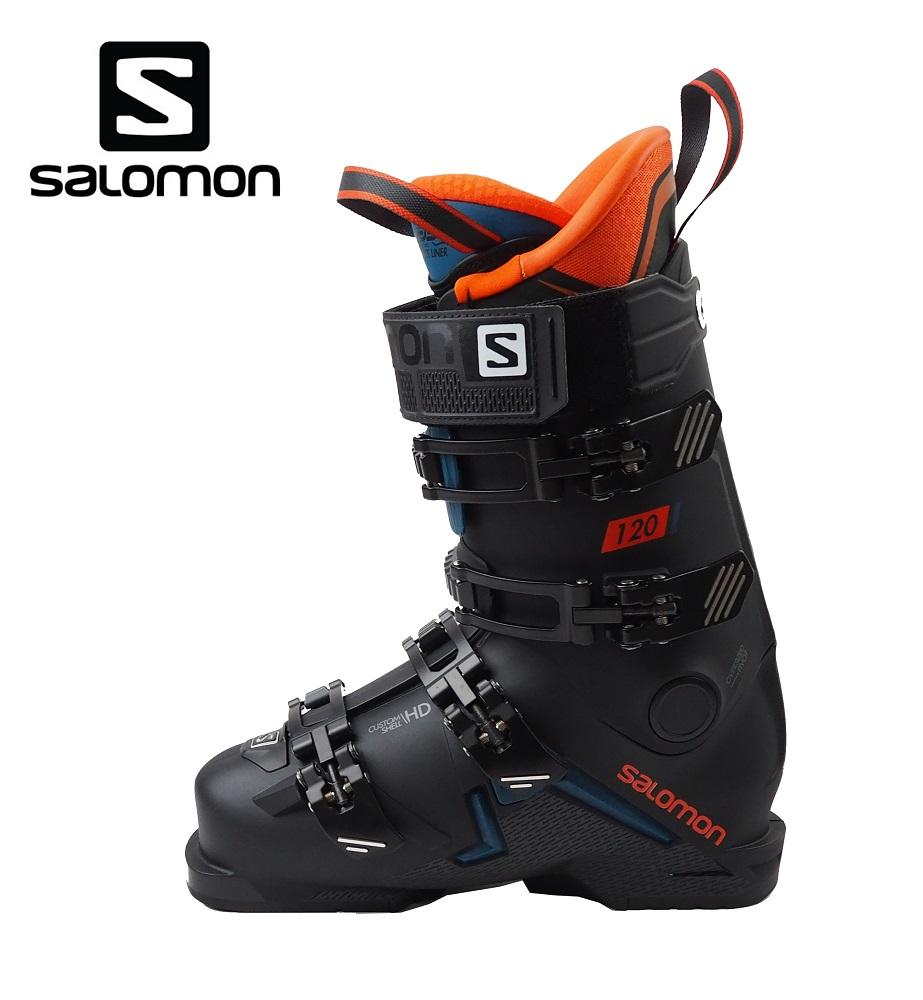 【全国送料無料】19-20サロモン(SALOMON)メンズ上級者エキスパートDEMOスキーブーツ「X MAX 120」(Black/Orange)L40547600