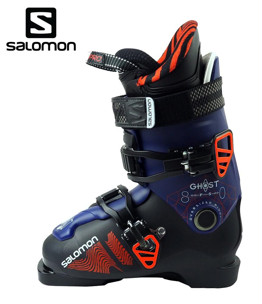 【全国送料無料】19サロモン(SALOMON)フリースタイルブーツ 大人用 中~上級者「GHOST FS 80」(Black×DPurple×Orange)L39937000