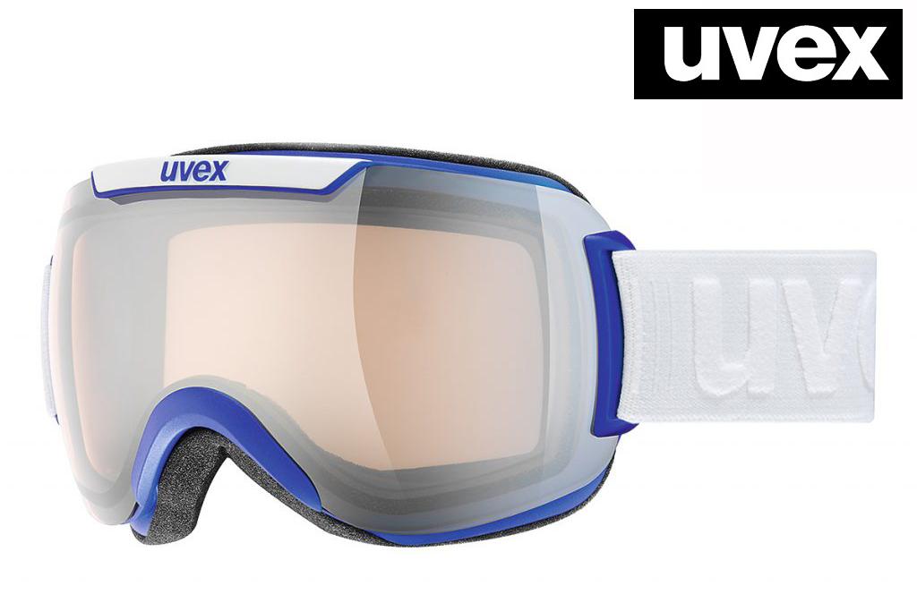 2018-2019UVEX(ウベックス)スキーゴーグル「uvex downhill 2000 VLM」≪variomatic調光レンズ≫コバルトブルーマット5551084023