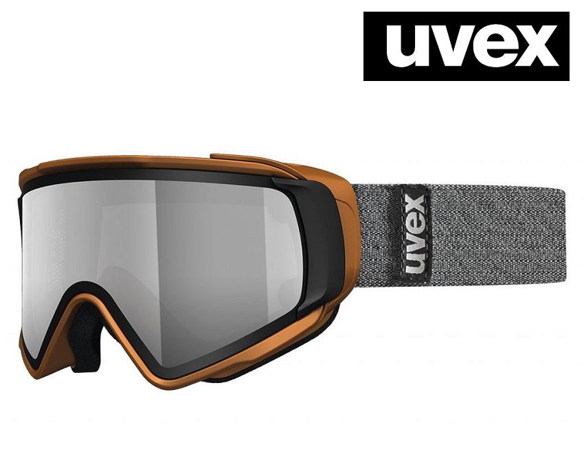 2018 UVEX(ウベックス)スキーゴーグル「uvex JAKK TOP」≪take off polavision偏光≫カッパーマット5504308026