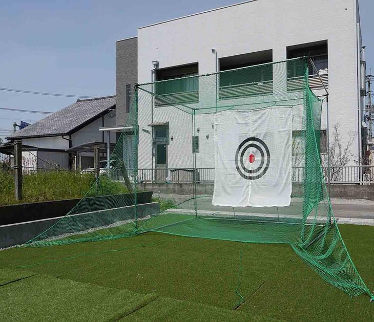ゴルフ練習ネット「返球・大型据置式GT」GTR-300型(送料サービス)