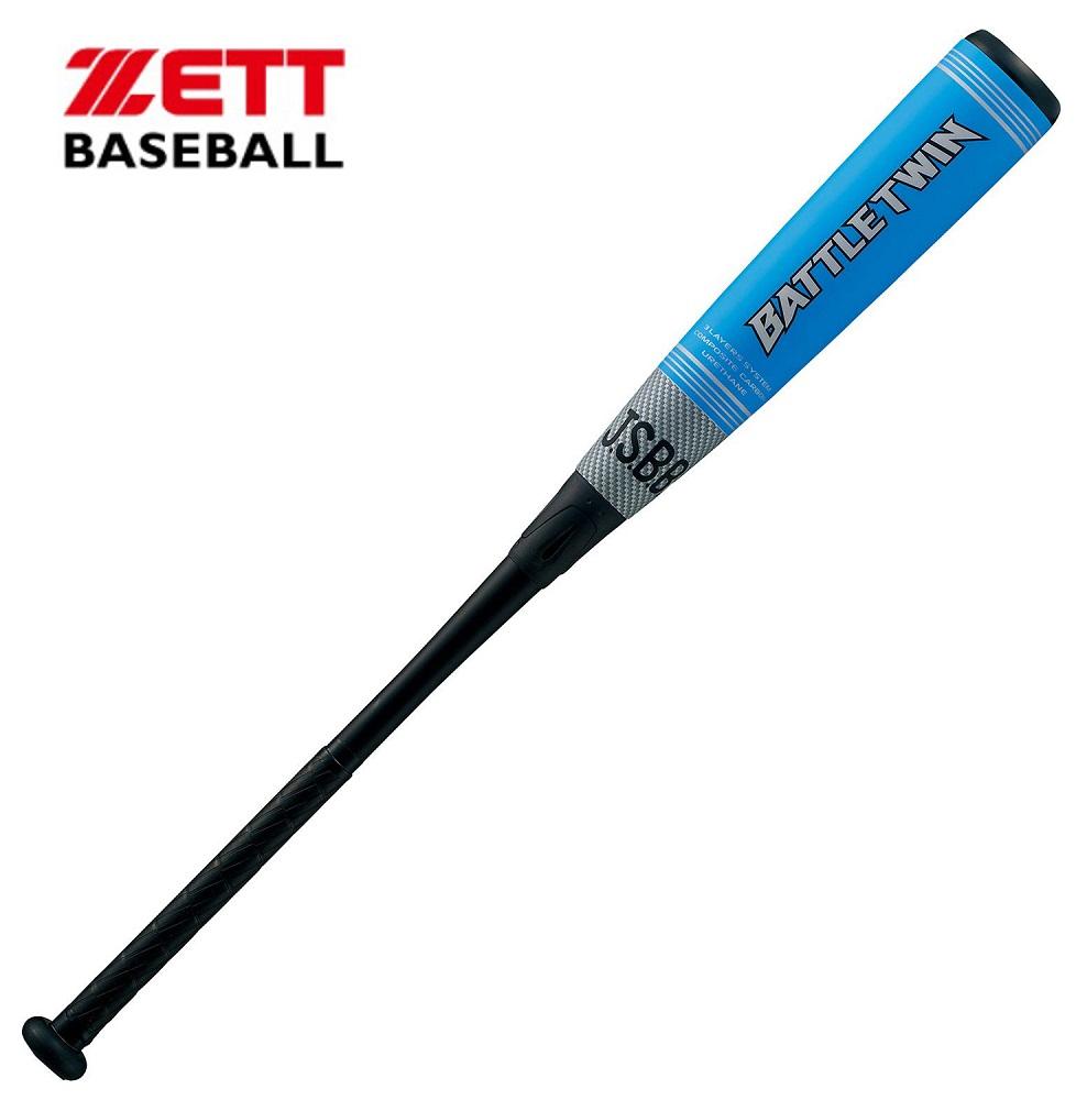 ゼットZETT一般軟式野球カーボンFRPバット「バトルツィン」84cm≪BCT30914≫