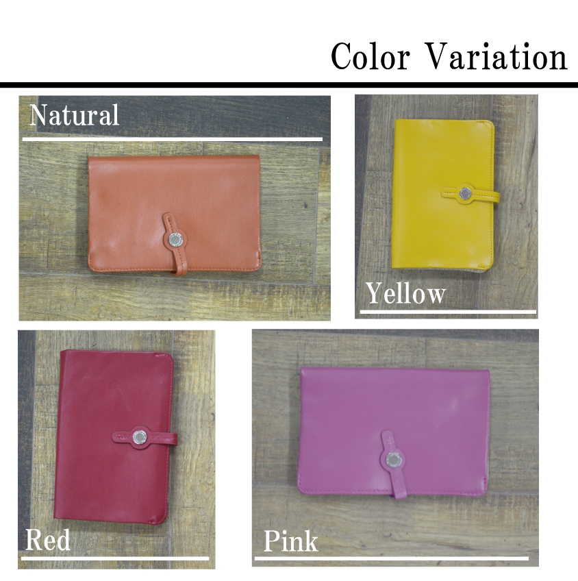 The case pochette leather pretty lady's folio present gift pass case  multifunctional wallet plain fabric pass holder which puts P up to 4 times
