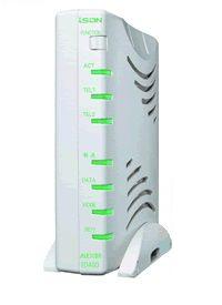 ISDN ターミナルアダプタ(DSU内蔵、切離し可)【ALEX-TD490】ALEXON/アレクソン