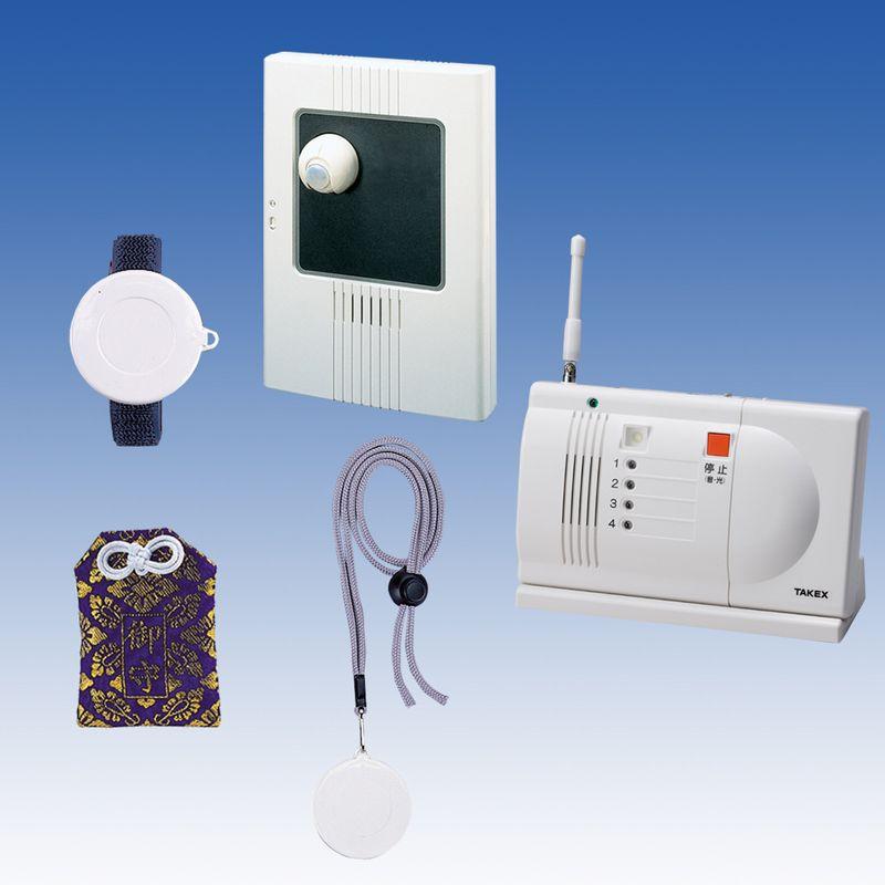 徘徊 お知らせ 無線タイプ(ワイヤレス)卓上型受信機セット 徘徊対策 徘徊防止【ACW-S(T)】TAKEX/竹中エンジニアリング